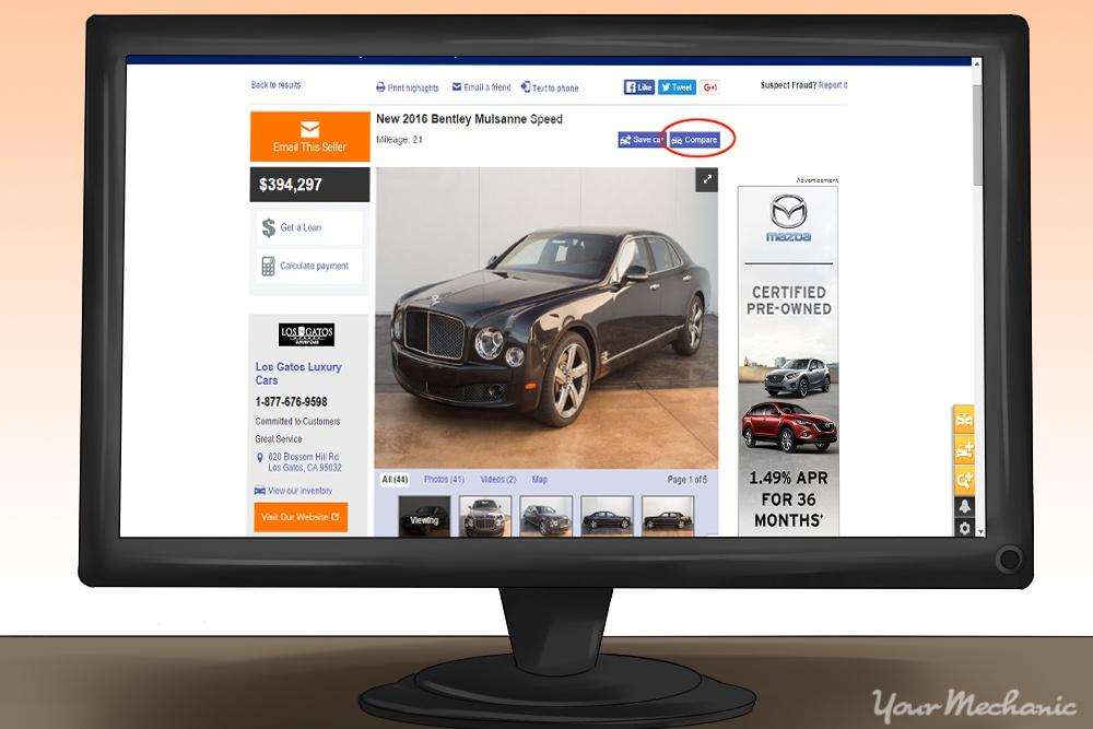 auto trader comparison tool
