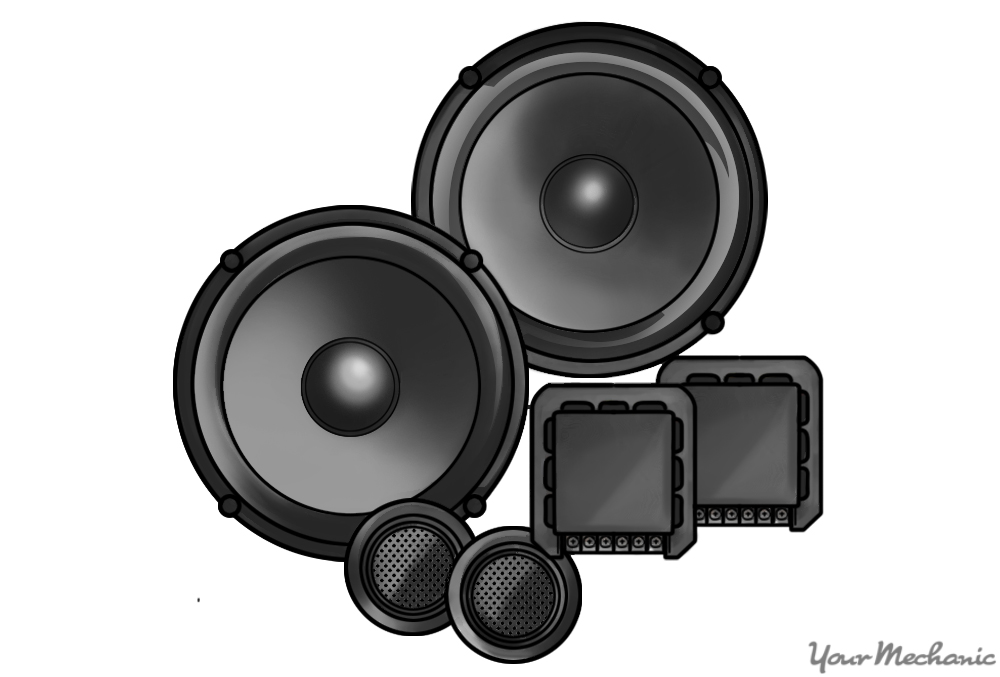 component speaker system