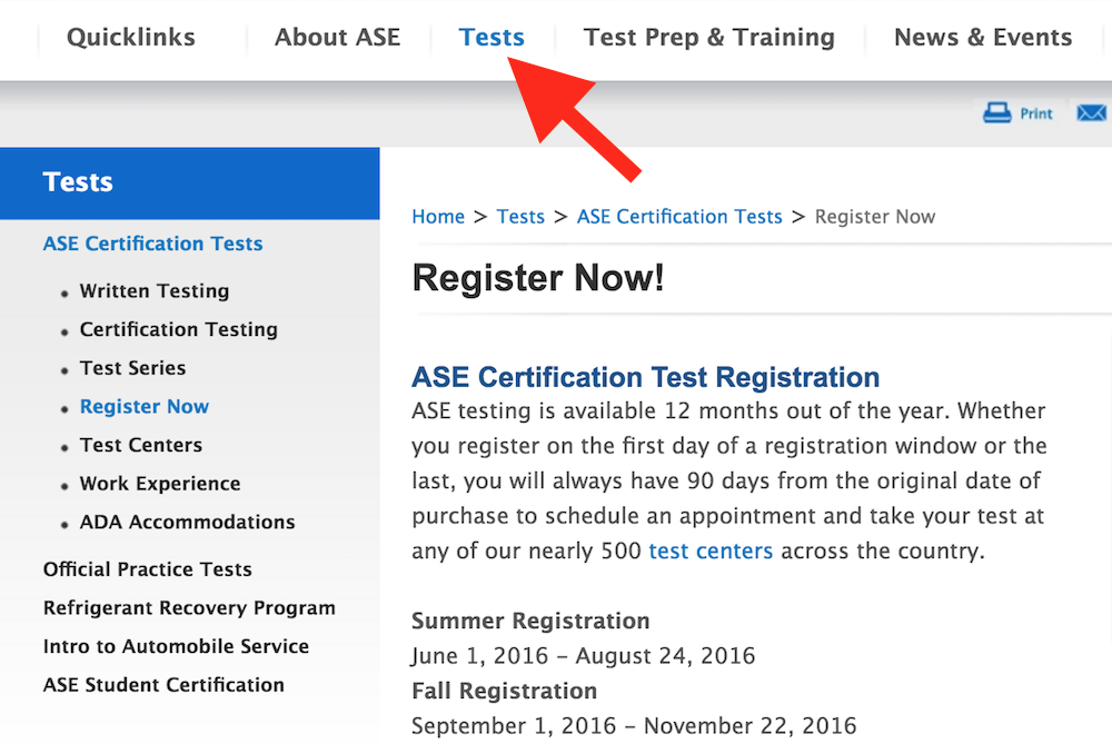 How To Get Ase Recertified Yourmechanic Advice
