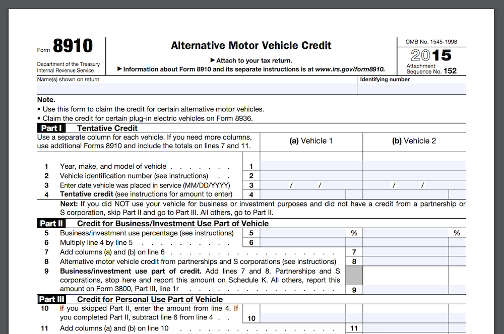 Do You Get Tax Credit For Used Electric Car