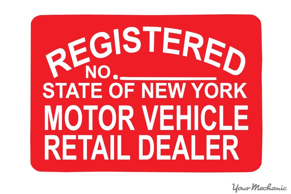 retail dealer sign