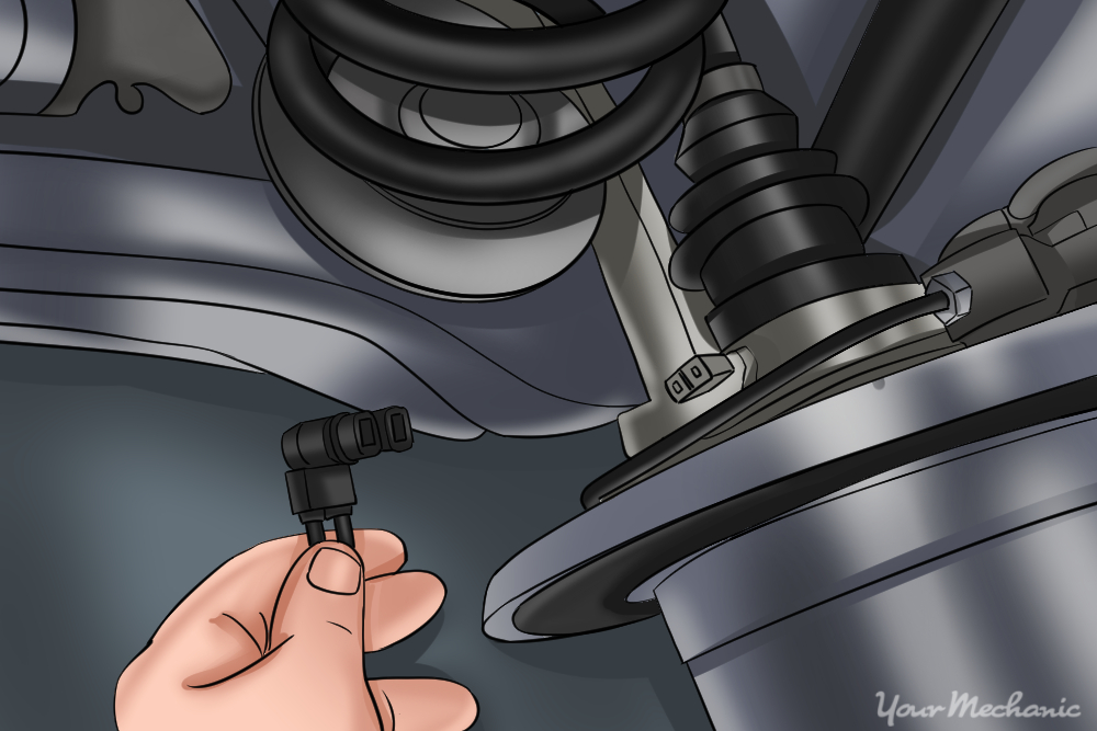 How To Replace An Abs Speed Sensor Yourmechanic Advicerhyourmechanic: Ford Explorer Abs Sensor Location At Gmaili.net