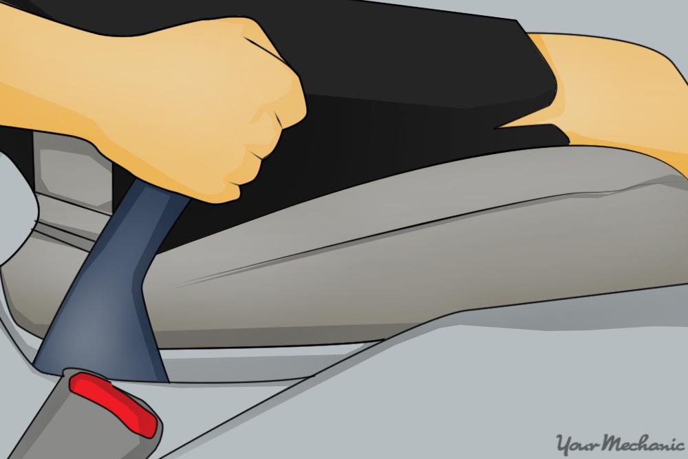 hand pulling emergency brake