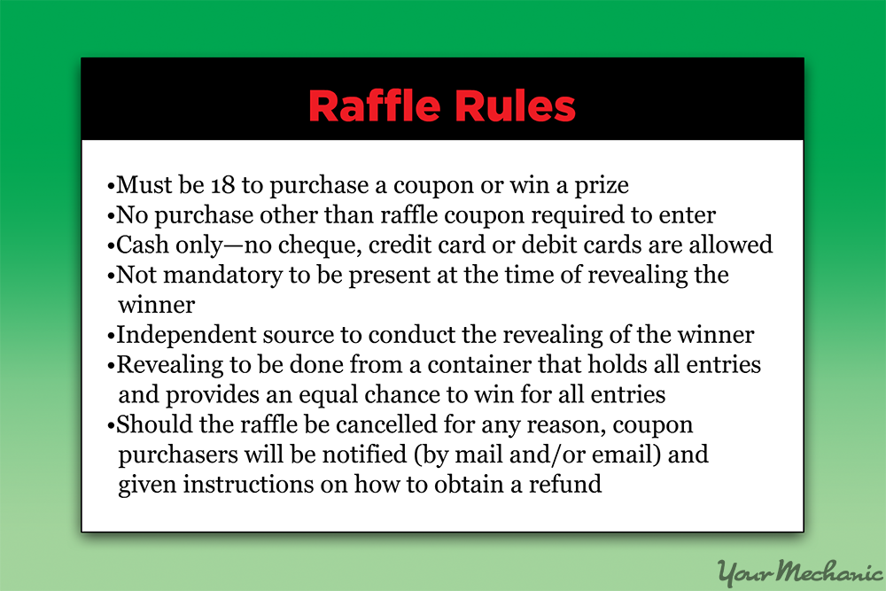 how to raffle tickets