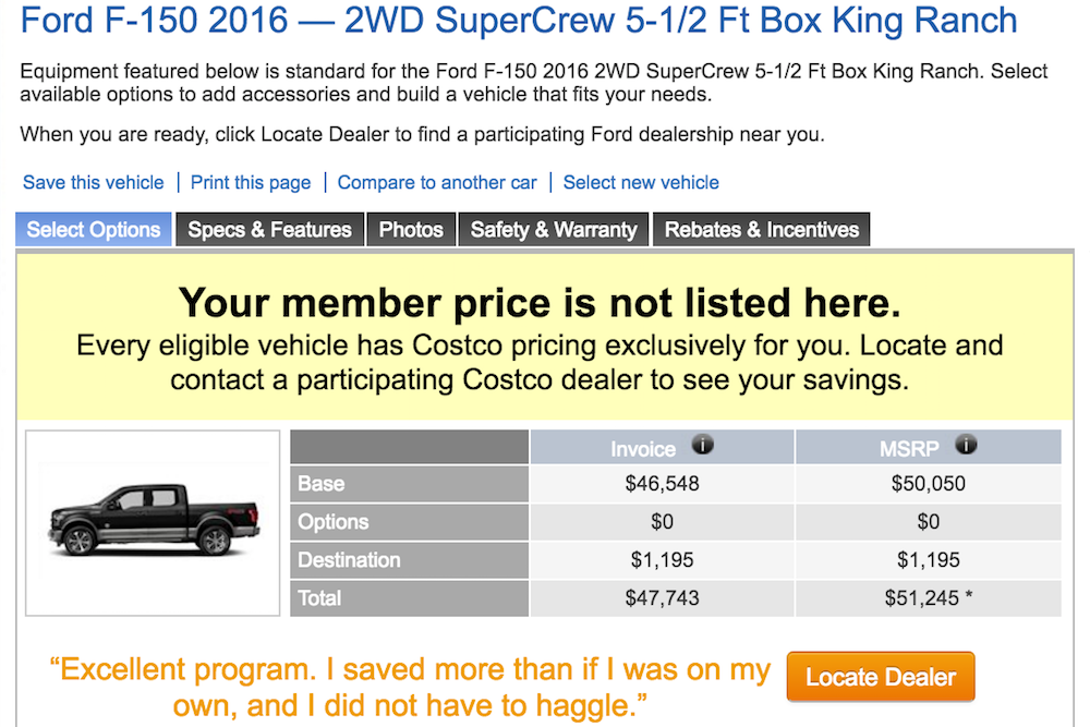 Image Result For Costco Car Buying Program