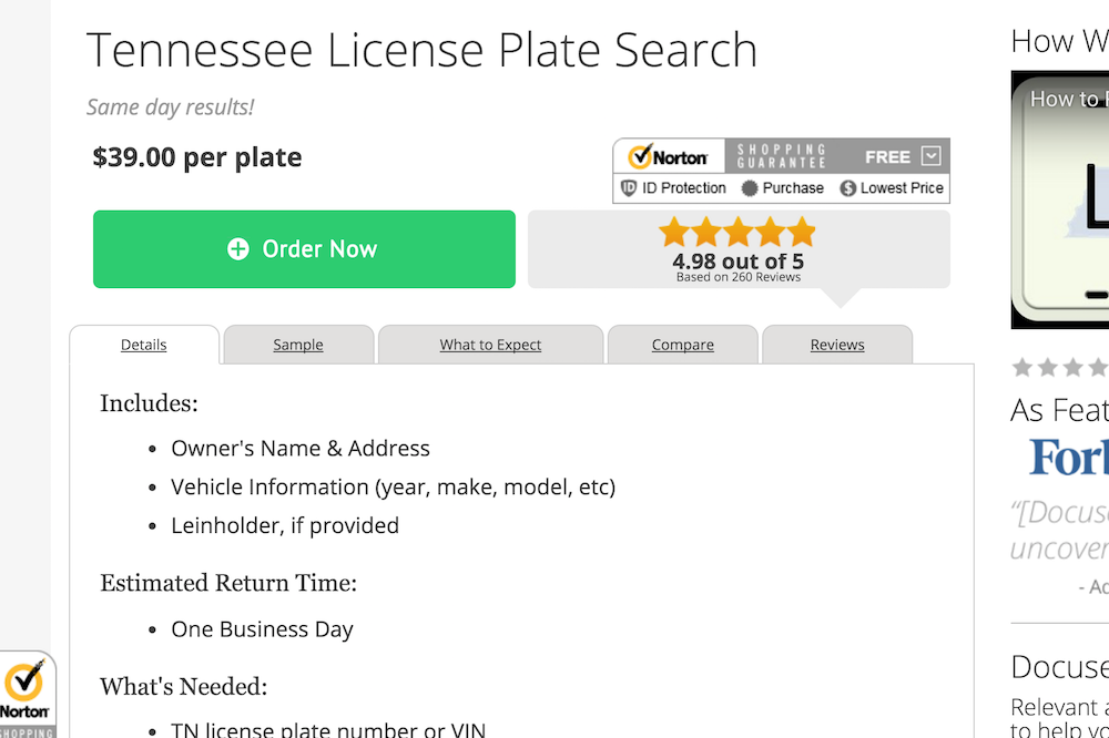 docusearch tennessee