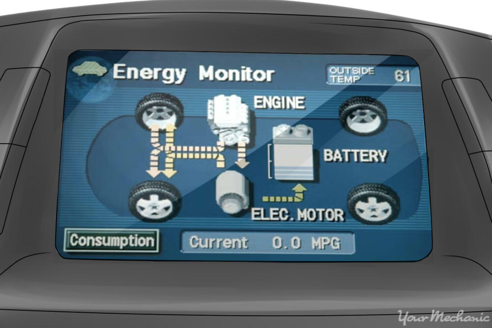 energy optimization screen