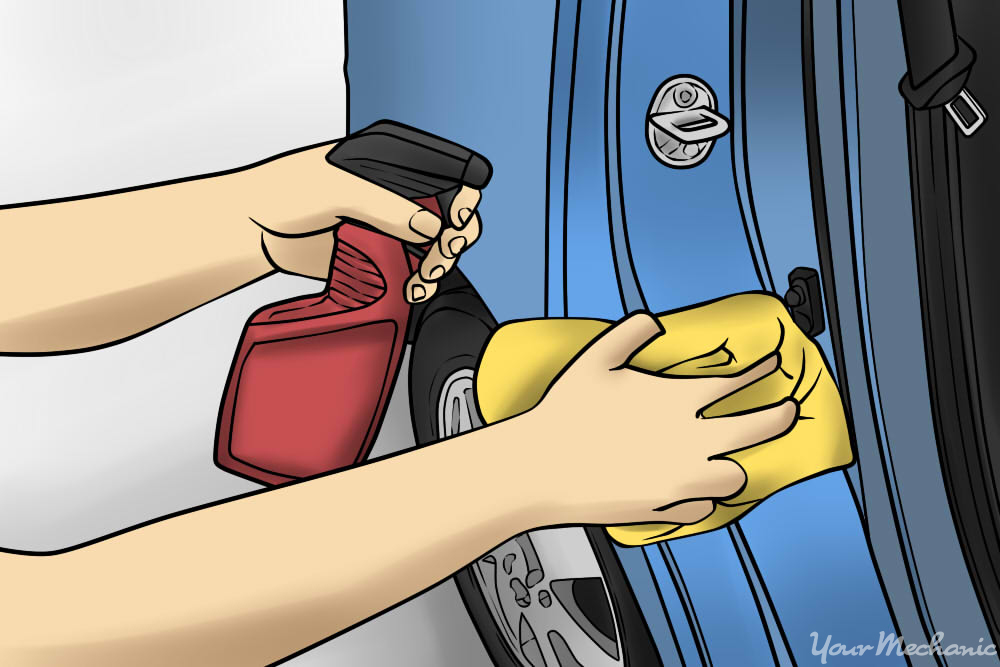 How Often Should You Wax Your Car >> How to Clean Dirt On a Door Panel | YourMechanic Advice