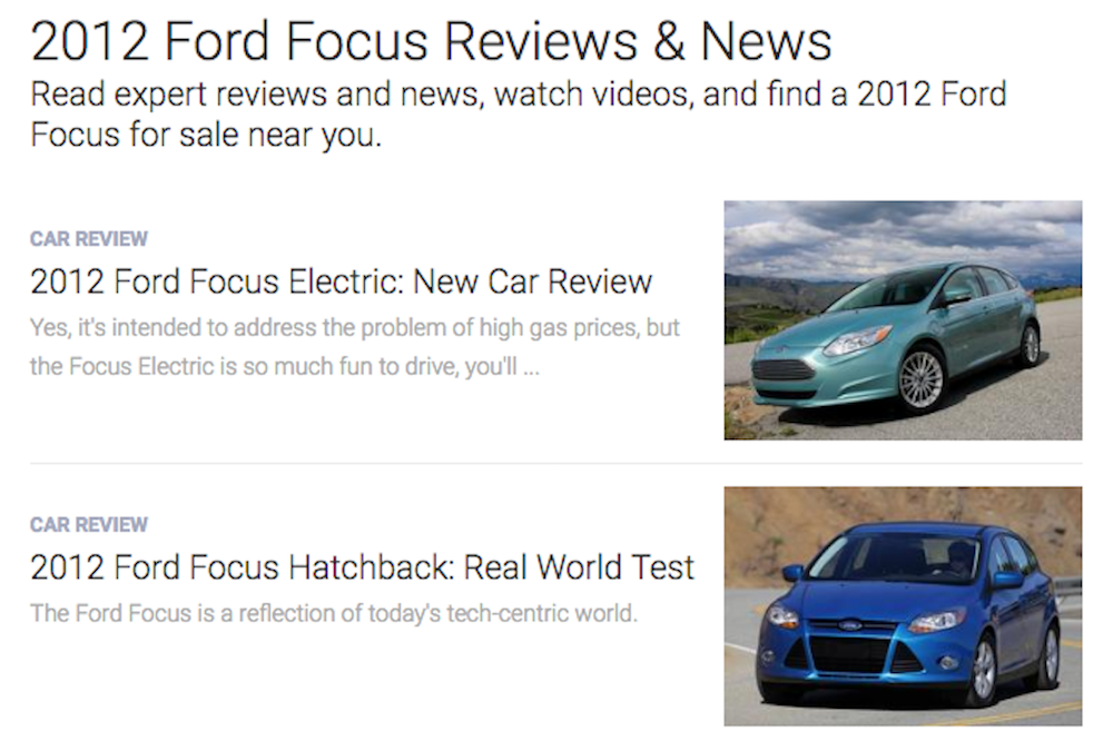 ford car reviews