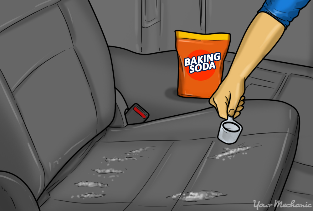 Baking Soda To Get Rid Of Smell How To Remove The Odor Of Sour Milk From Your Car  Yourmechanic
