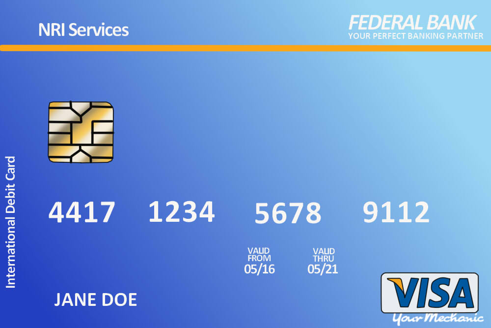 debit card example
