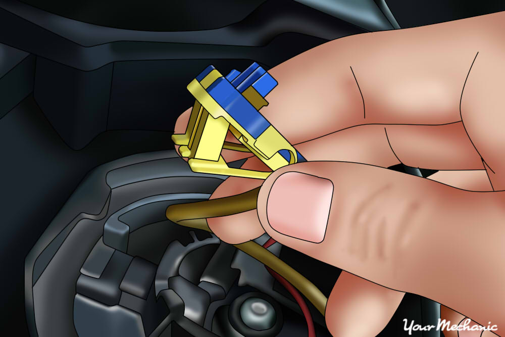 remove yellow wire for airbag