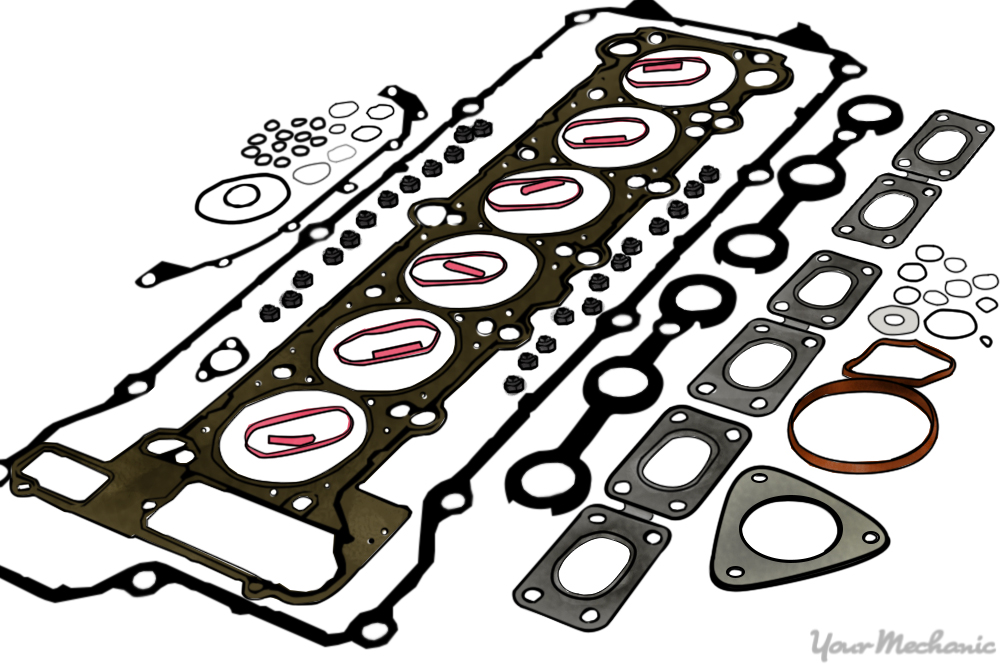 head gasket set for a 6 cylinder engine