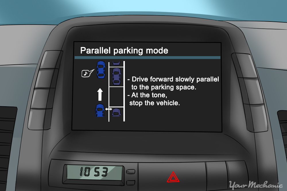 parallel parking mode