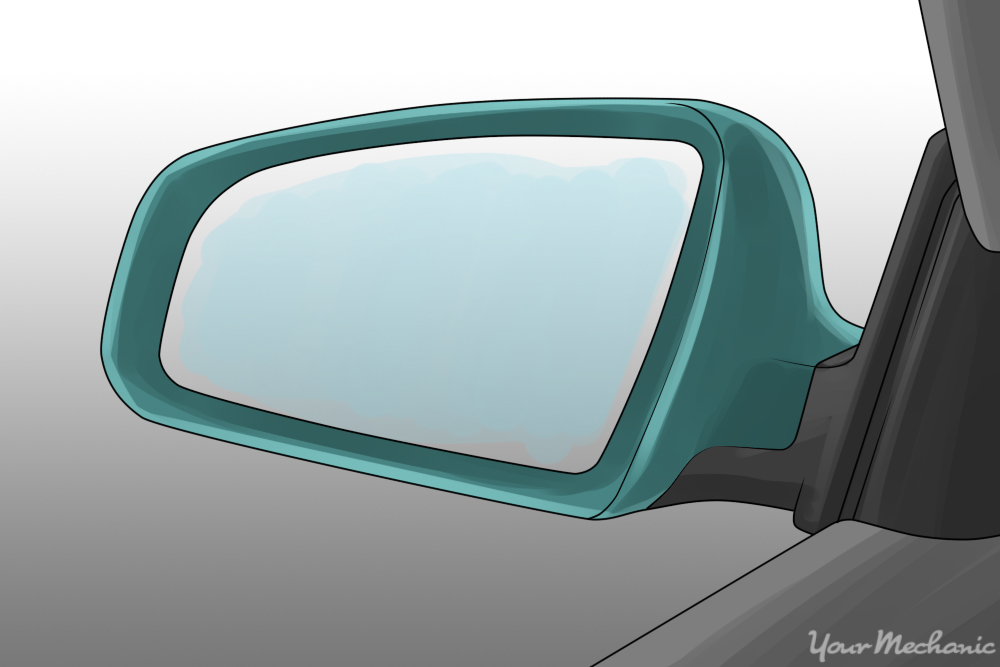 view of left side mirror