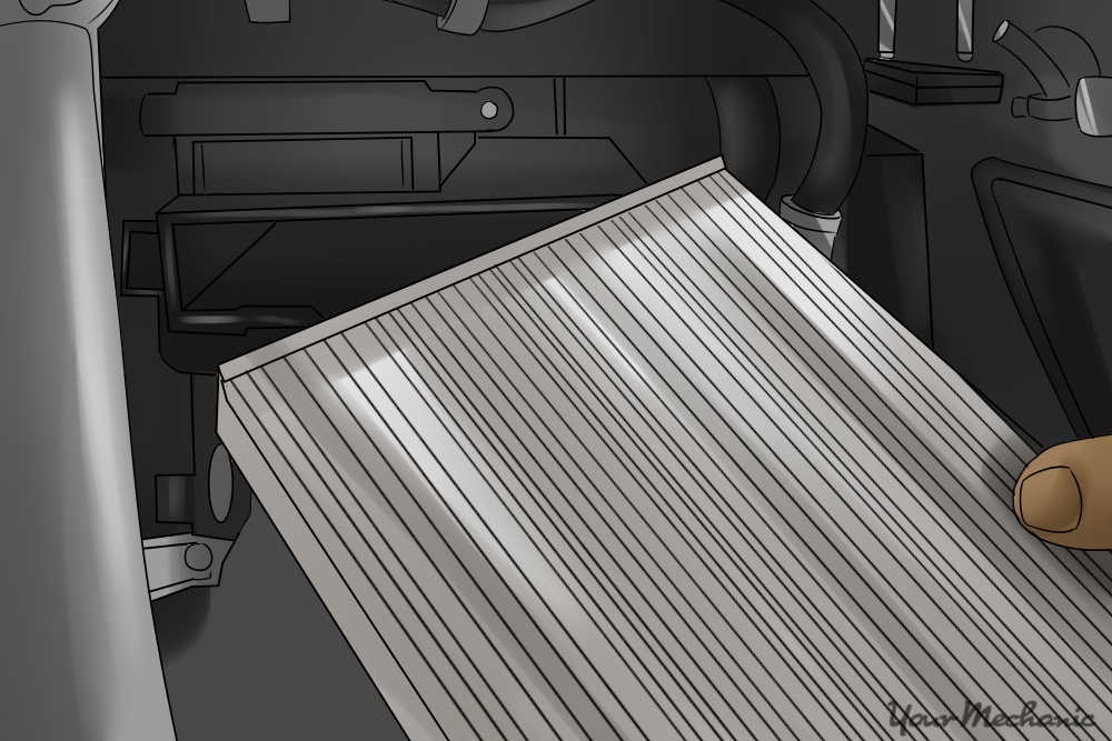 How To Replace A Cabin Air Filter Thats Behind The Glove Box