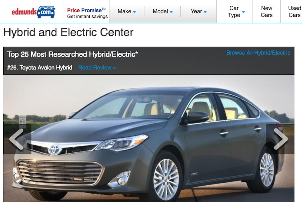 hybrid car portal