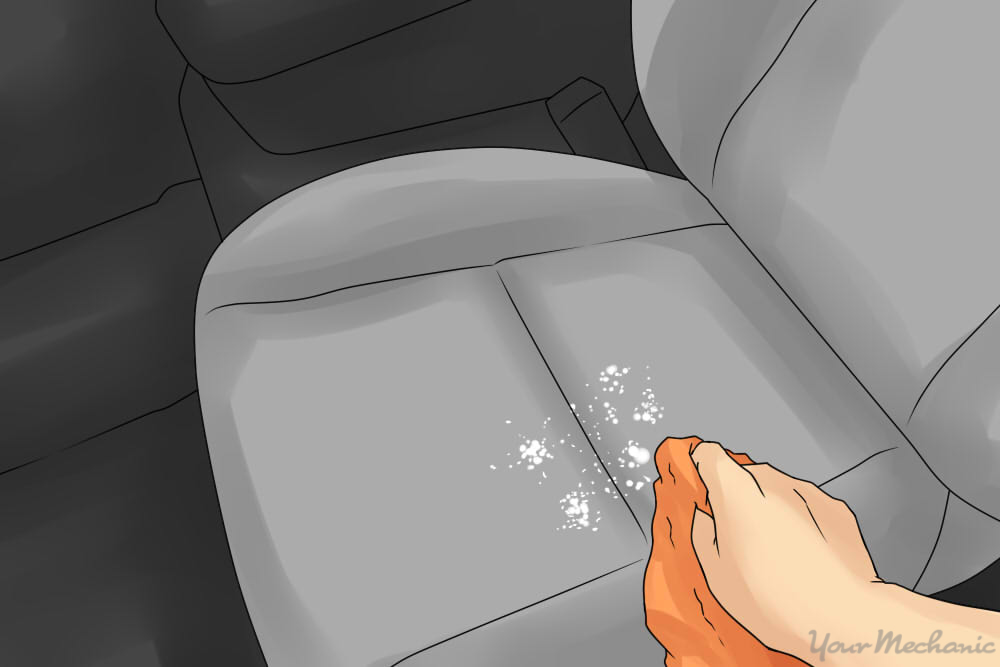 how to clean liquid spills on car upholstery yourmechanic advice. Black Bedroom Furniture Sets. Home Design Ideas