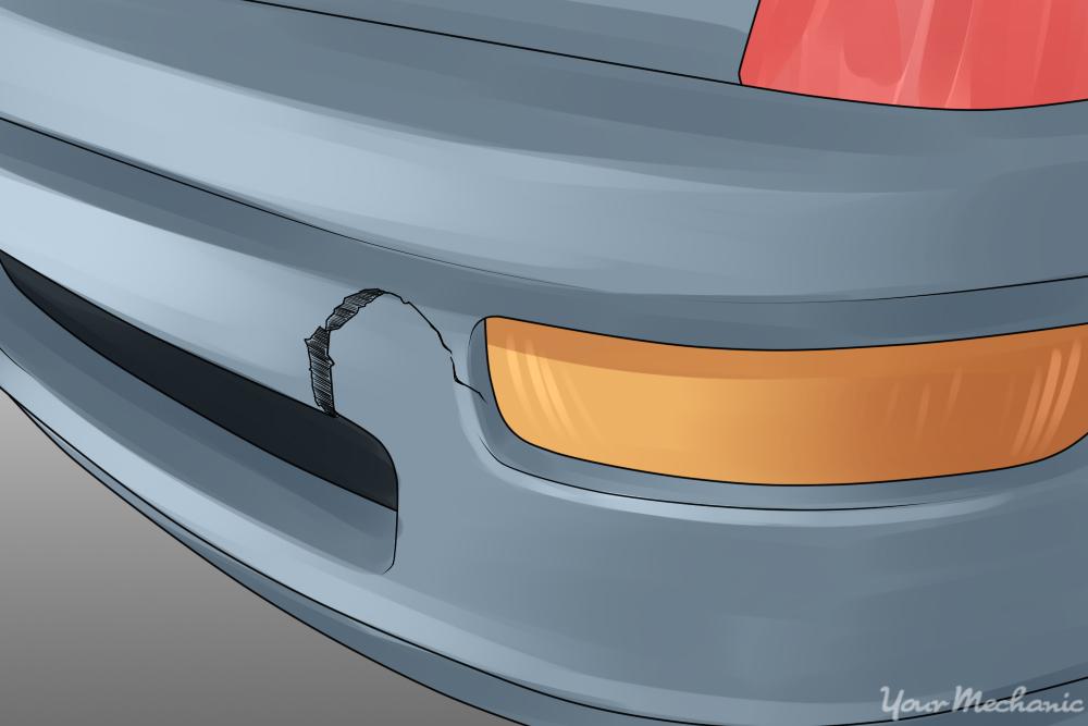 Repair Plastic Car Bumper Crack