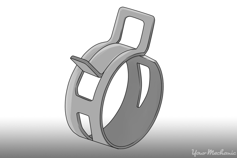 spring type of hose clamp
