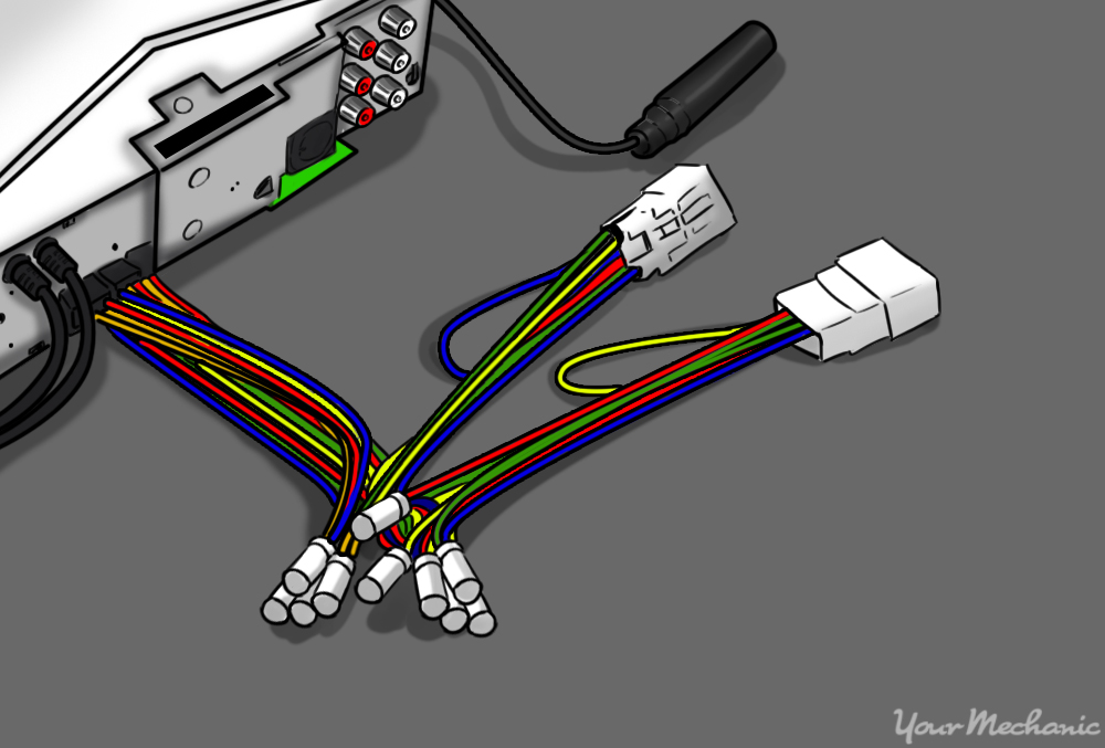 Dual Head Unit Wiring Harness : Speaker wiring harness splice diagram images