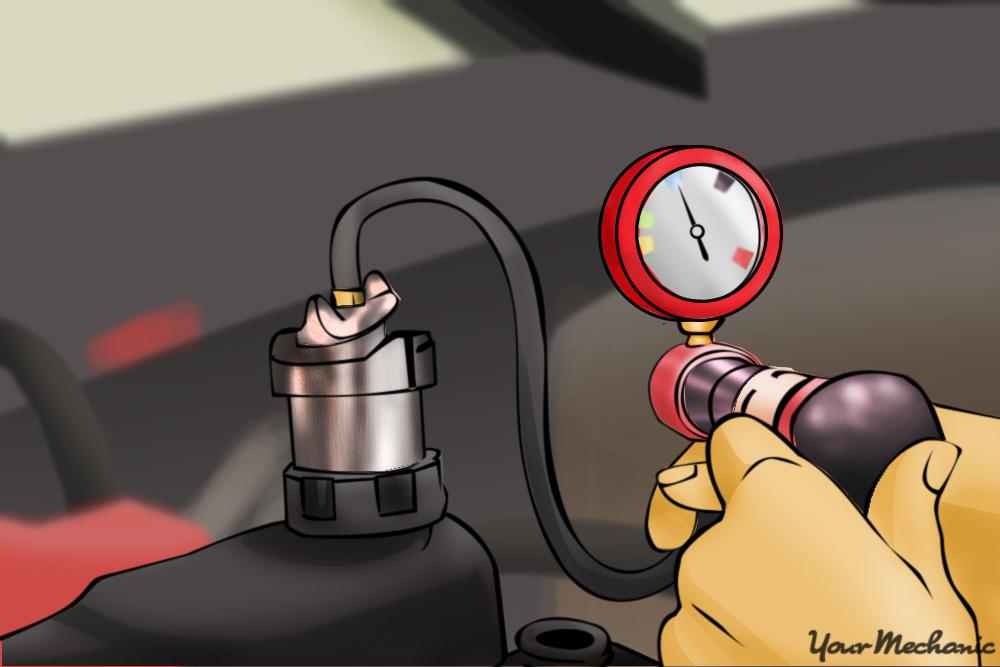 coolant pressure bulb