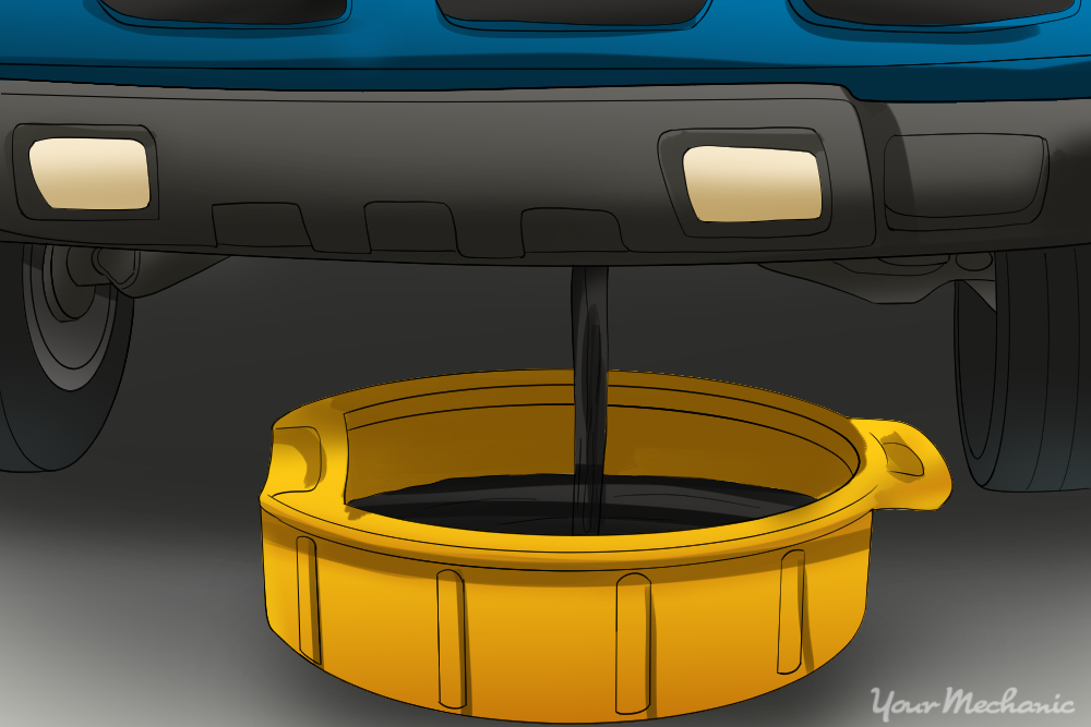drain pan under radiator