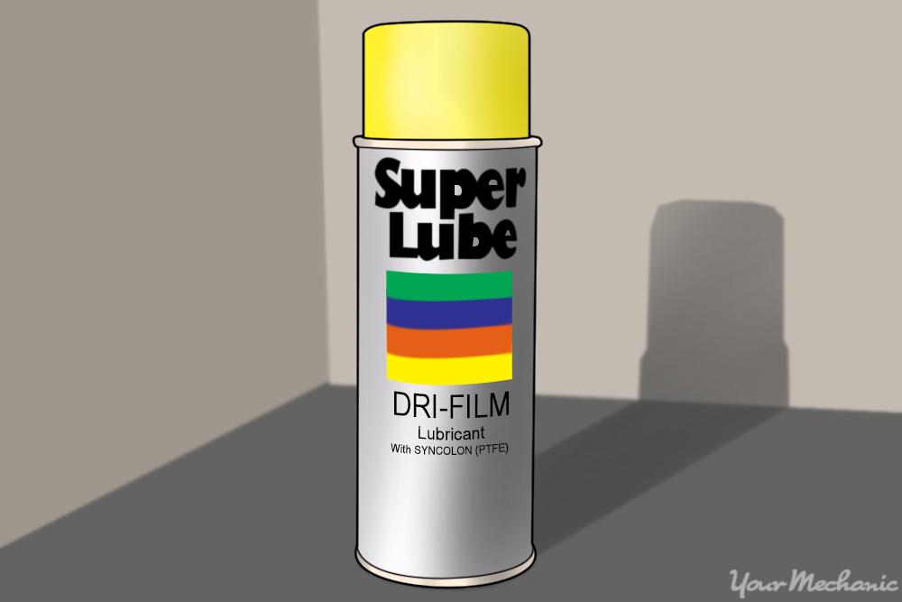 spray lubricant