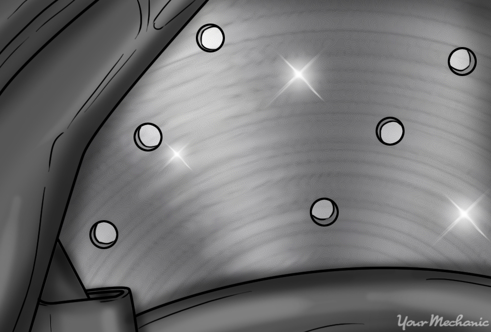 close up of smooth and shiny rotor