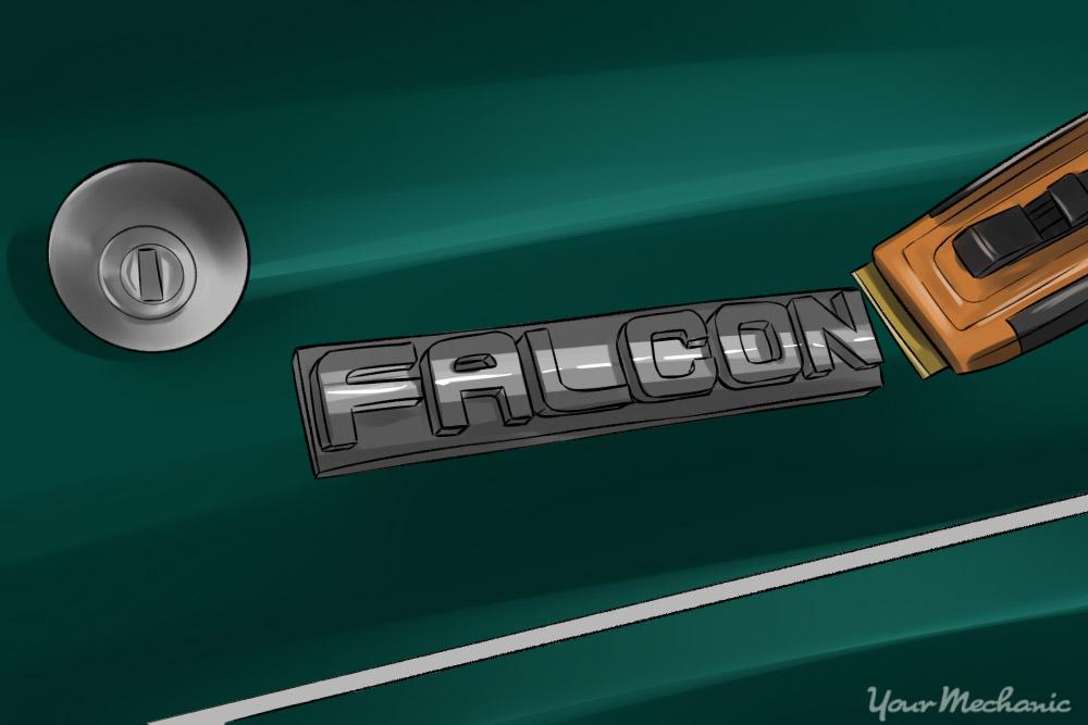 trim tool under emblem