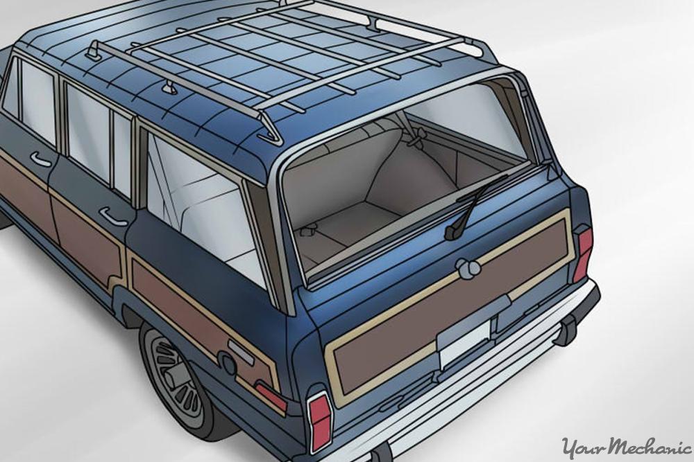 open rear window