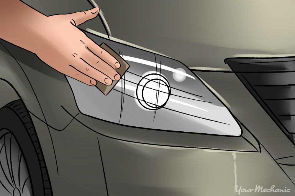 How To Clean Oxidized Headlights Yourmechanic Advice