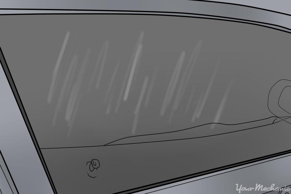 interior window streaks