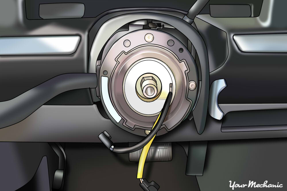 Service Manual Removing Clock Spring 2012 Mazda Cx 7