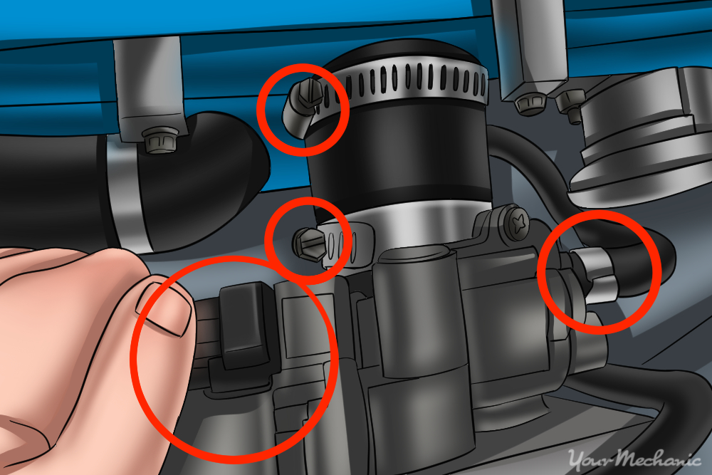 How to Replace a Throttle Body Due to Carbon Build-Up on Most Vehicles 7