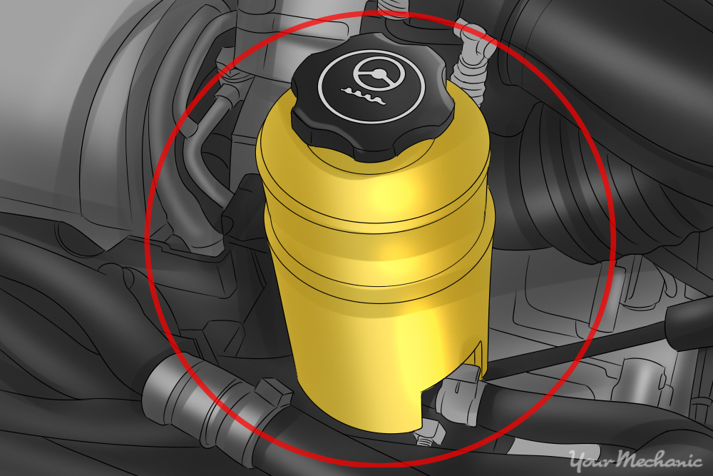 power steering reservoir