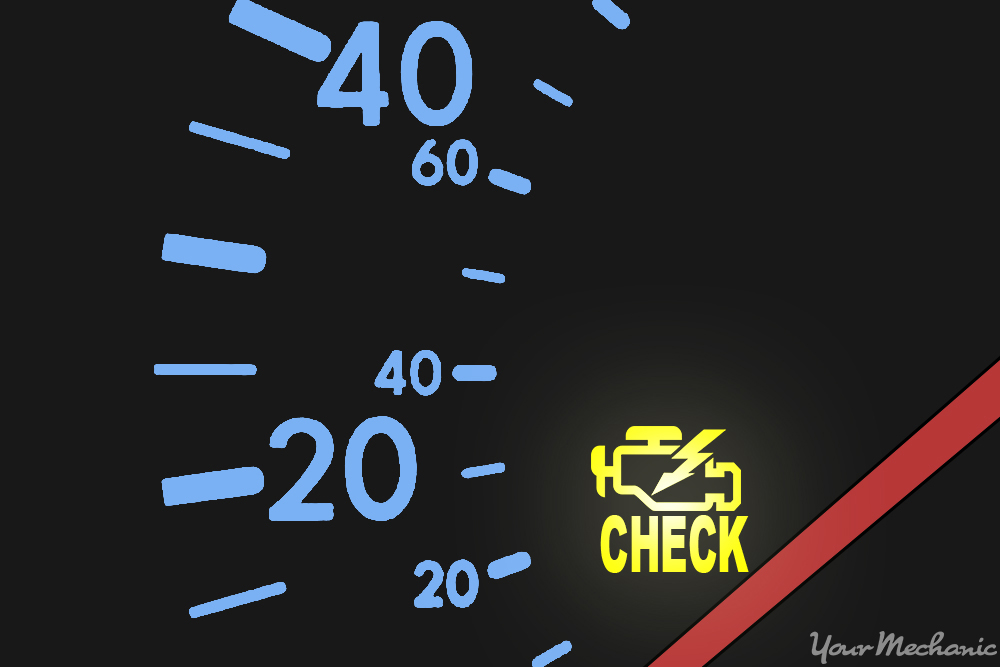 check engine light illuminated