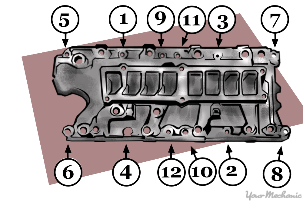 engine lower intake manifold
