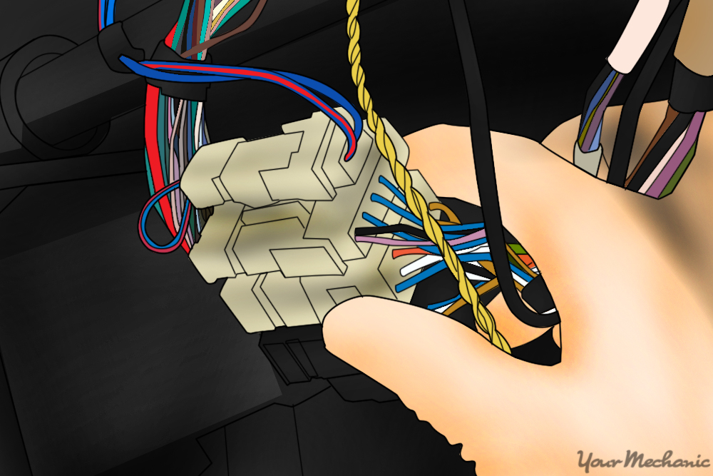 disconnecting the harness