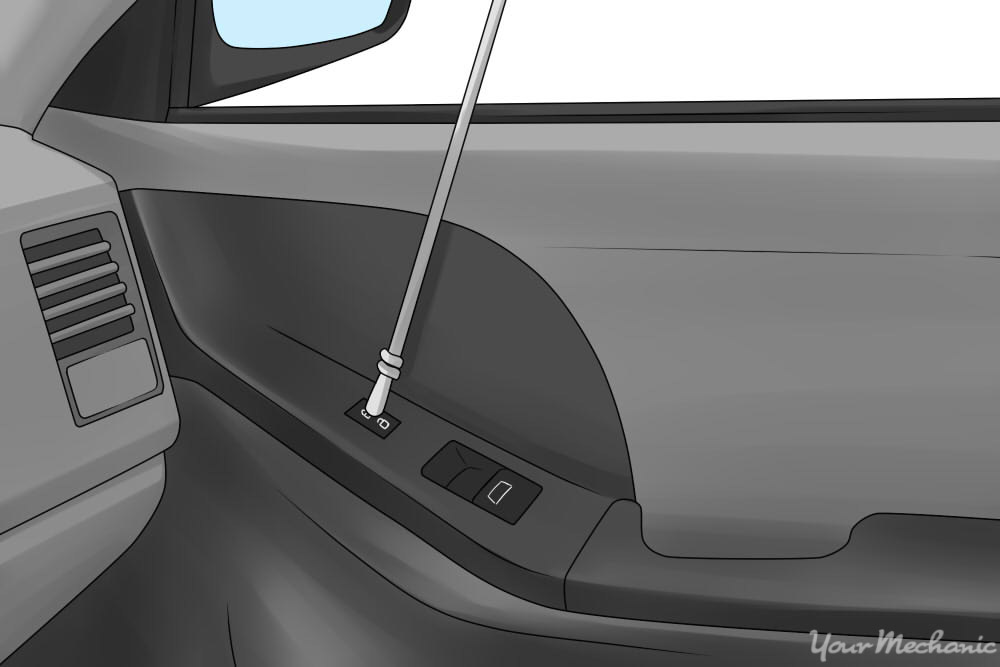 How to open a car trunk
