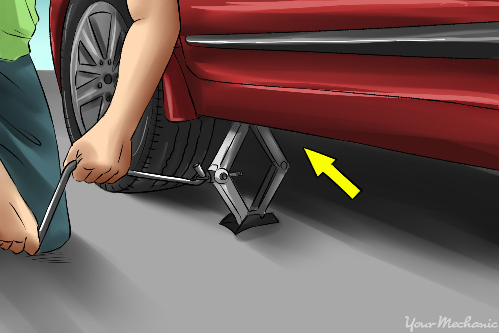 Jack Drive For Car Tire Change