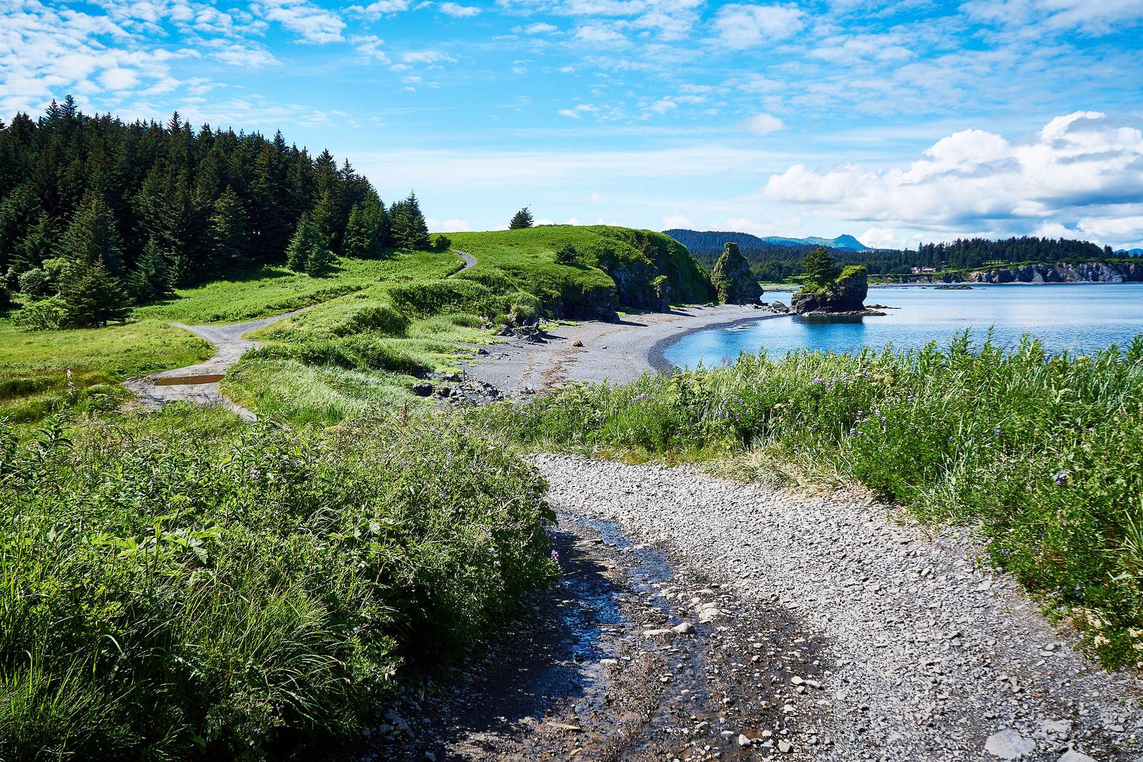 Chiniak Highway Alaska