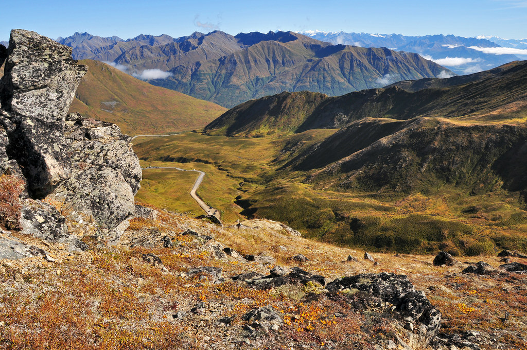Hatcher Pass Scenic Drive Alaska