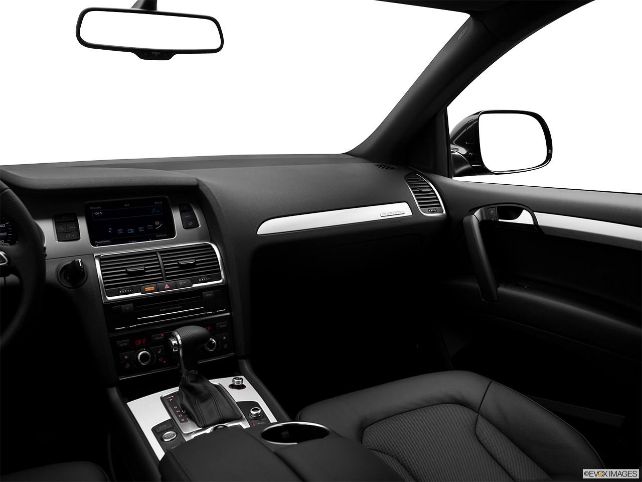 Audi Q7 TDI 2012 Interior