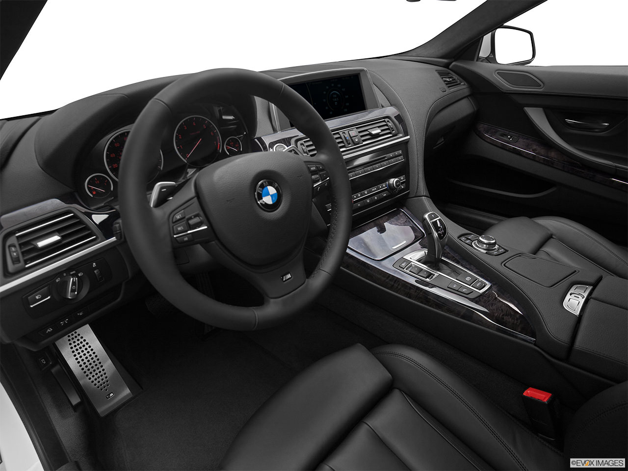 BMW 6-Series 2012 Interior