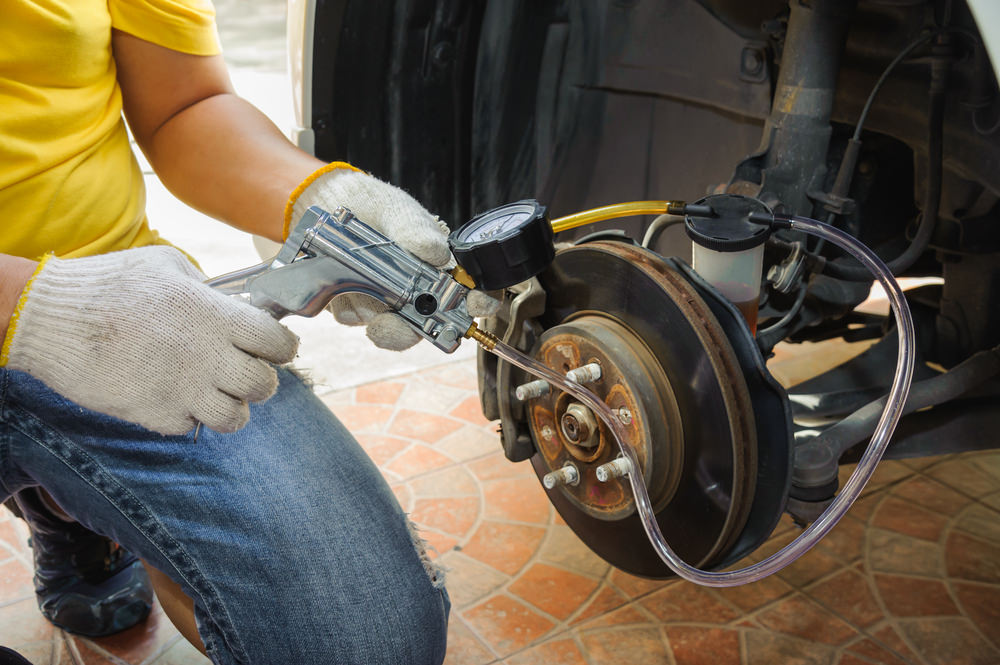 Bleed brakes on your own will helip you save the time and money.