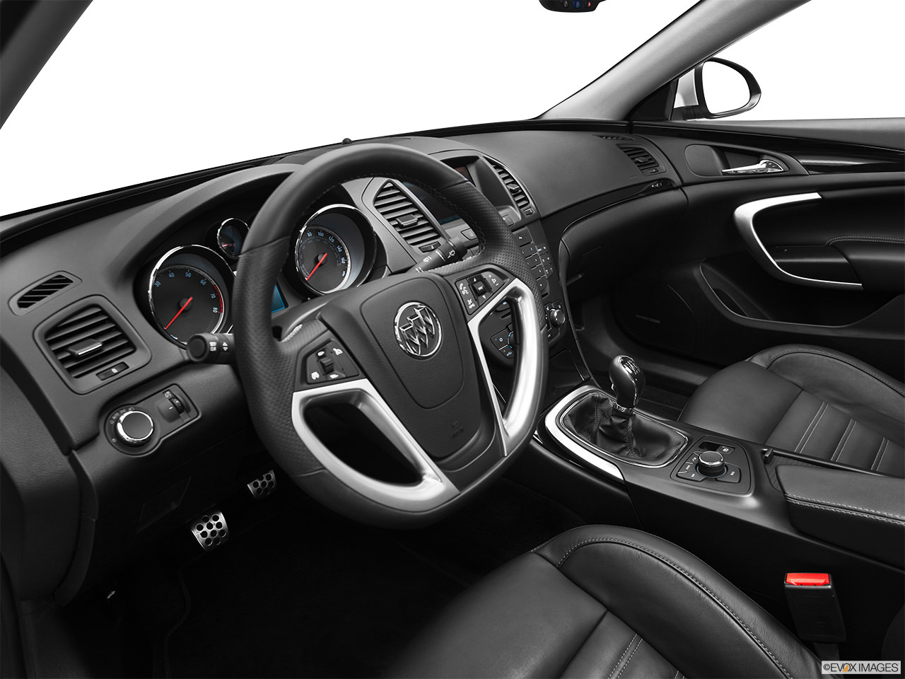 Buick Regal eAssist 2012 Interior