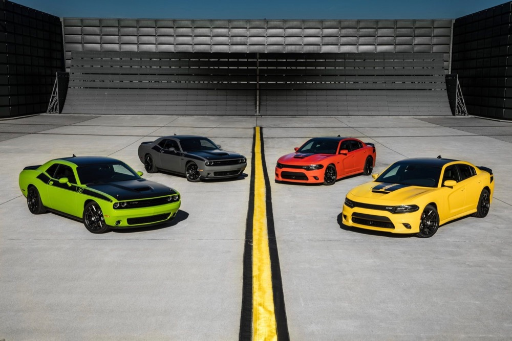 2017 Dodge Chargers and Challengers