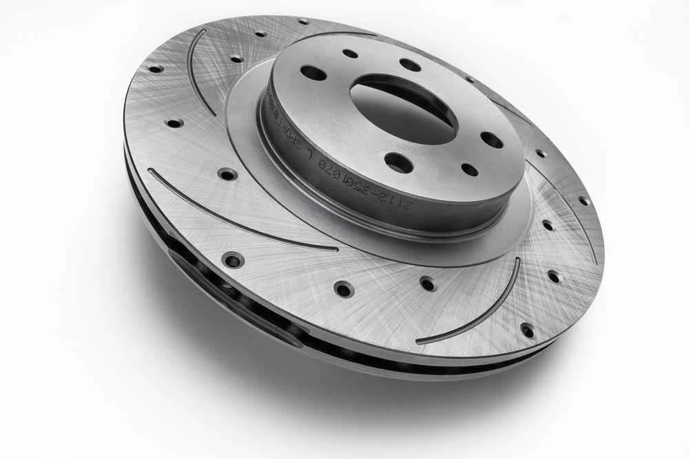 Drilled and Slotted Brake Rotors