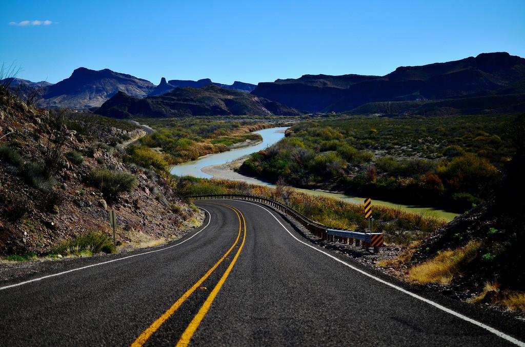 El Camino del Rio Texas